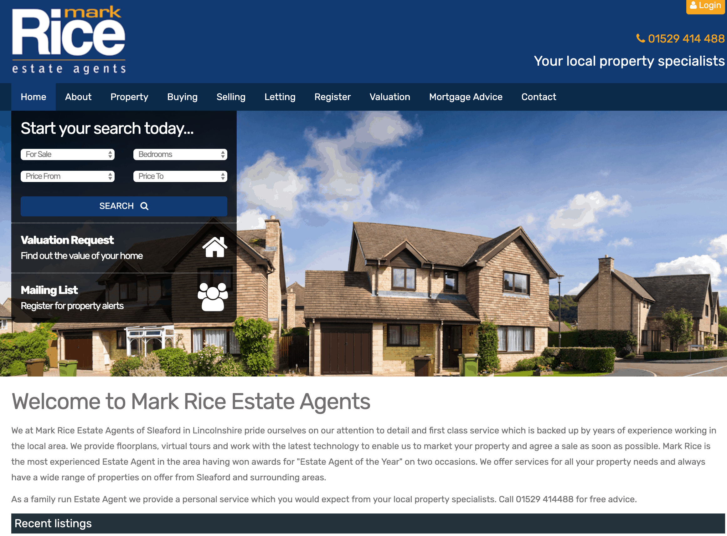 Lincolnshire mortgages & estate agent partnership